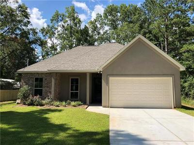 Madisonville LA Single Family Home For Sale: $199,500