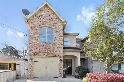 Metairie Townhouse For Sale: 3760 Roman Street #A