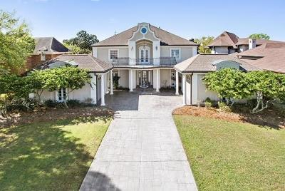 Kenner Single Family Home For Sale: 33 Chateau Mouton Drive