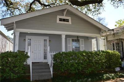 New Orleans Single Family Home For Sale: 253 Broadway Avenue