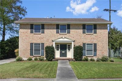Metairie Single Family Home Pending Continue to Show: 5501 Avron Boulevard