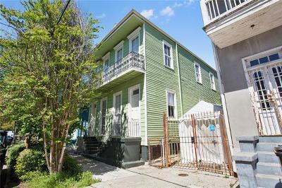 New Orleans Multi Family Home For Sale: 1507 Gov Nicholls Street