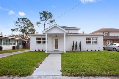 New Orleans Single Family Home For Sale: 4737 Press Drive