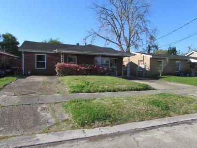 Metairie Single Family Home For Sale: 7820 Monette Street