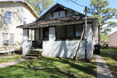 New Orleans Single Family Home For Sale: 2427 State Street