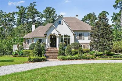 Mandeville LA Single Family Home For Sale: $1,100,000