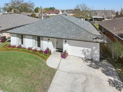 Kenner Single Family Home For Sale: 4120 Iowa Avenue