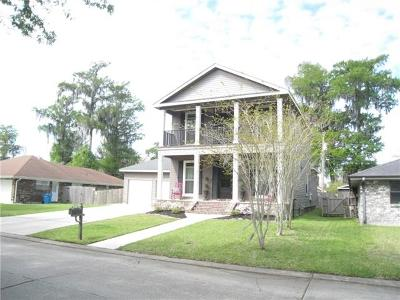 Destrehan Single Family Home For Sale: 163 Dunleith Drive