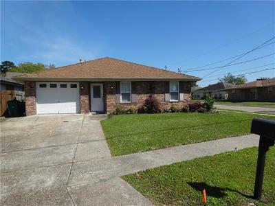 Metairie Single Family Home For Sale: 3501 N Woodlawn Street