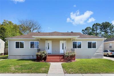 Arabi Single Family Home For Sale: 1007 Community Street
