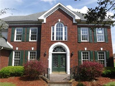 Gretna Single Family Home For Sale: 3741 Lake Timberlane Drive