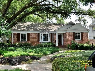 New Orleans Single Family Home For Sale: 1628 Charlton Drive