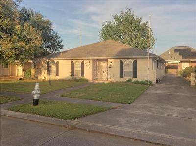 Metairie Single Family Home For Sale: 2021 Madison Street