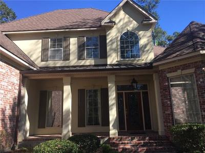 Mandeville LA Single Family Home For Sale: $724,900