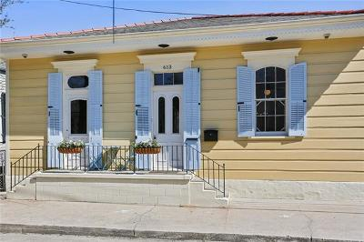 New Orleans Single Family Home Pending Continue to Show: 613 Louisa Street