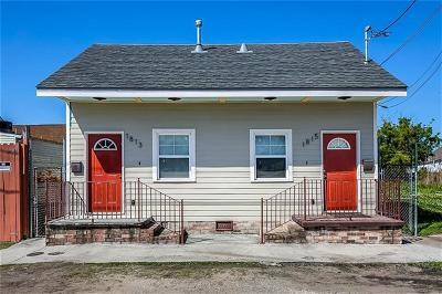 New Orleans Multi Family Home For Sale: 1813 N Villere Street
