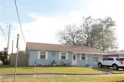 Marrero Single Family Home For Sale: 5901 Louis I Street