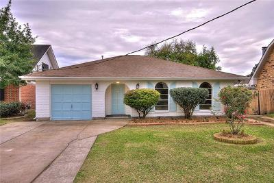 Metairie Single Family Home For Sale: 4720 Belle Drive