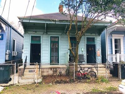 New Orleans Multi Family Home For Sale: 721 Pleasant Street