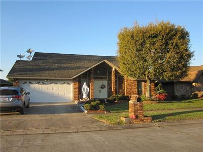 Marrero Single Family Home For Sale: 22 Cherry Blossom Lane