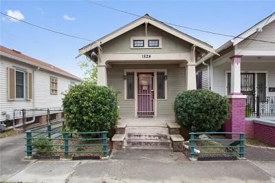 New Orleans Single Family Home For Sale: 1824 Paul Morphy Street