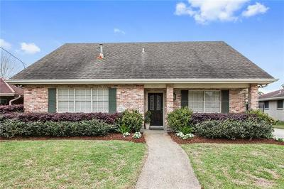 Metairie Single Family Home For Sale: 4928 Purdue Drive