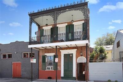 New Orleans Multi Family Home For Sale: 732 Burgundy Street