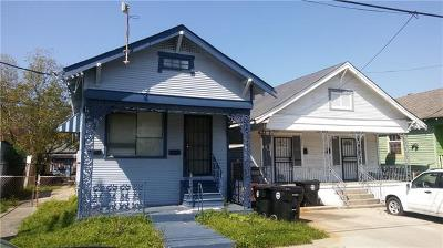 New Orleans Single Family Home For Sale: 2418 Eads Street