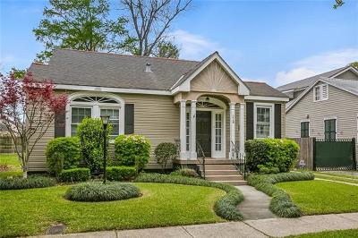 Single Family Home For Sale: 218 Metairie Heights Heights