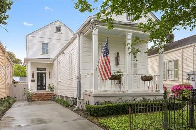New Orleans Single Family Home For Sale: 313 Lowerline Street
