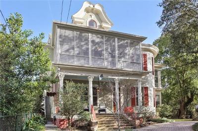 New Orleans Multi Family Home For Sale: 1731 Calhoun Street