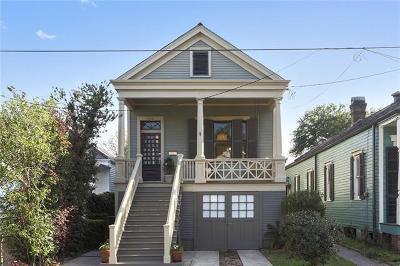 New Orleans Single Family Home For Sale: 5918 Chestnut Street