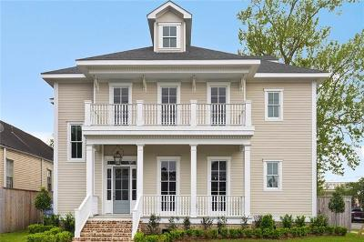 New Orleans Single Family Home For Sale: 1734 Amelia Street