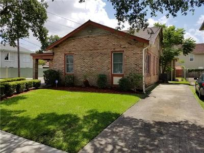 New Orleans Single Family Home For Sale: 2643 Jefferson Street