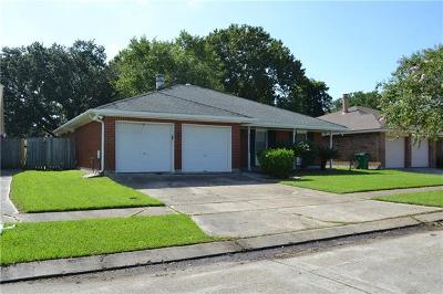 Gretna Single Family Home For Sale: 236 Sugarpine Drive