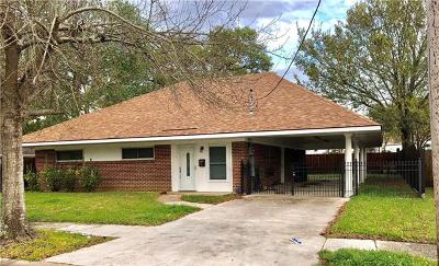 River Ridge, Harahan Single Family Home For Sale: 121 Diane Avenue