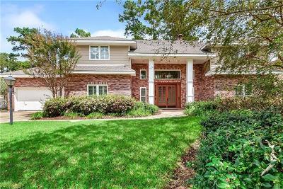 Single Family Home For Sale: 531 Beau Chene Drive