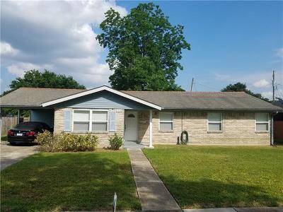 Arabi Single Family Home For Sale: 921 Rowley Boulevard