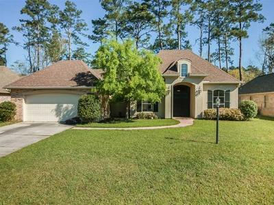 Madisonville Single Family Home For Sale: 188 Timberwood Drive