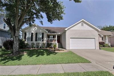 Destrehan Single Family Home For Sale: 205 Nottaway Drive