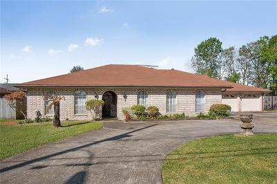 Metairie Single Family Home For Sale: 1328 Transcontinental Drive