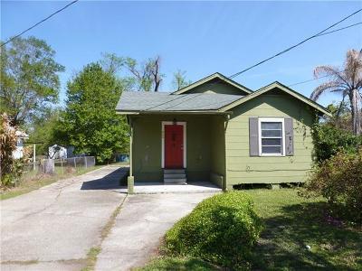Marrero Single Family Home For Sale: 6128 Evelina Street