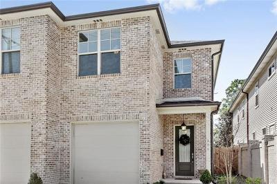 Metairie Townhouse Pending Continue to Show: 406 N Labarre Road