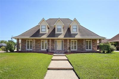 Marrero Single Family Home For Sale: 2716 Cedarlawn Drive