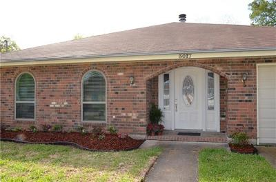 Kenner Single Family Home Pending Continue to Show: 3017 Kansas Avenue