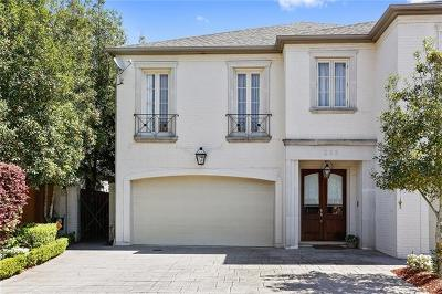 Metairie Townhouse For Sale: 263 Metairie Heights Avenue