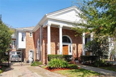 New Orleans Single Family Home For Sale: 74 Versailles Boulevard