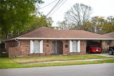 River Ridge, Harahan Single Family Home For Sale: 9405 Venus Street
