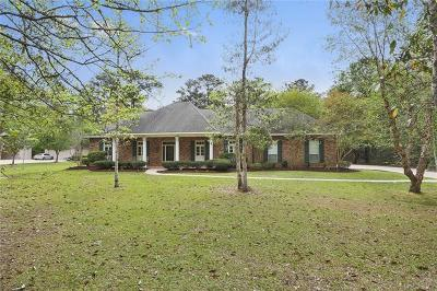 Slidell Single Family Home For Sale: 1013 Parkpoint Drive