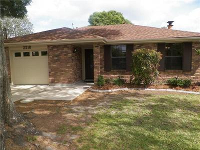 Kenner Single Family Home Pending Continue to Show: 2216 Roosevelt Boulevard